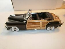 1 The Danbery Mint 1948 Chrysler Town&Country Boys  Diecast
