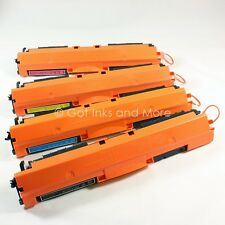 4/PK Color Toner Cartridge Set for HP 126A CE310A CE311A CE312A CE313A
