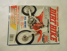 OCTOBER 2008 DIRT BIKE MAGAZINE,09 TESTS KTM 300XC,450SX, YAMAHA YZ450F,CRF450R