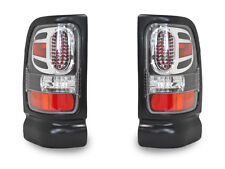 1994-2001 DODGE RAM PICKUP TRUCK 1500/2500/3500 APC BLACK LED LOOK TAIL LIGHTS