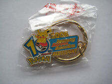 Pokemon 10th Anniversary - Journey Across America keychain - 2006 participant