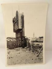 *ANTIQUE 'THINNEST HOUSE IN THE WORLD'  POSTCARD/PHOTO WW2**