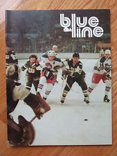 THE NEW ENGLAND WHALERS vs QUEBEC NORDIQUES 1978 BLUELINE Program GORDIE HOWE