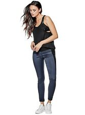 GUESS SPORTY CHIC SATEEN LEGGINGS Size 30 RTL 128$