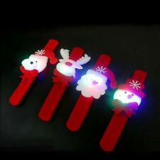 4pc Christmas Gift Lamp With Light Clap Pat Circle Bracelet Ring Party Essential