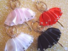 1PC Ballerina Gold Alloy Crystal Flat Back Cabochon Jewellery Phone Case Deco UK