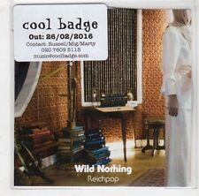 (HB505) Wild Nothing, Reichpop - 2016 DJ CD