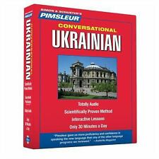 Pimsleur Ukrainian Conversational Course - Level 1 Lessons 1-16 CD: Learn to Spe