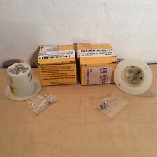 Lot 2 Hubbell P/N 1000441 NSN 5935-00-548-2002 HBL5378C Flanged Inlet