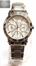 Casio Ladies Analog Sheen Stainless Steel White Watch SHN-3012D-7 + Gift New