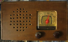 "Vintage Motorola FM Table Radio Circa 1940s, everything included, sold ""as is"""
