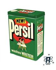 VINTAGE RETRO STYLE PERSIL WASHING LAUNDRY POWDER STORAGE CONTAINER TIN