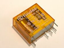 FINDER 40.52.5.230 DPDT 230V COIL RELAY DOUBLE POLE  5A 250V CONTACTS     fd5e17