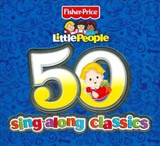 Little People: 50 Sing-Along Classics by Various Artists (CD, Sep-2010, 2 Discs,