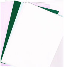 BLUE, WHITE, PINK GREEN & LILAC A4 ASSORTED PEARL PAPER (10 SHEETS) 2 OF EACH
