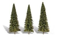 Woodland Classics TR3573 Trees 'Forever Green' 3 Pk N,HO,O Scale Free T48 Post