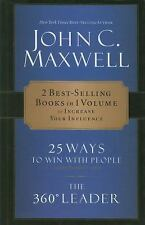 CU: Maxwell 2-in-1 25 Ways to Win With People & 360 Degree Leader
