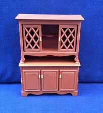 Vintage Fisher Price 1980 China Cabinet Hutch Doll House Furniture 263 Dining