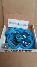 Blackspire dewlie C4 MTB MOUNTAIN BIKE CHAIN GUIDE dispositivo ISCG 05 MONTAGGIO BLU