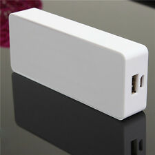 2x18650 Portable USB Power Bank Backup External Battery Charger for Mobile Phone
