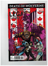 DEATH OF WOLVERINE: THE LOGAN LEGACY #1  CANADA Variant     / 2014 Marvel Comics
