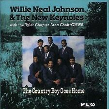 Willie Neal Johnson & New keynotes - The Country Boy Goes Home -New Factory CD