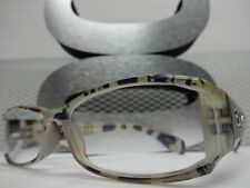 NEW CONTEMPORARY LADIES WOMEN READING EYE GLASSES FRAMES READERS CHEATERS +2.00