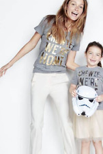 J CREW WOMENS STAR WARS CHEWIE WE'RE HOME force awakens rogue one T TEE SHIRT XS