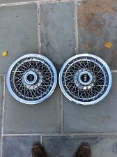 """1979 - 82 Oldsmobile Cutlass Wire Hubcaps. 14"""""""