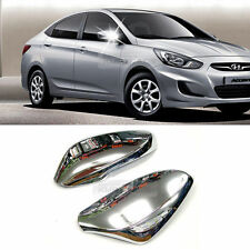 Chrome Side Mirror Cover LED Molding For HYUNDAI 2011-2015 SOLARIS / ACCENT