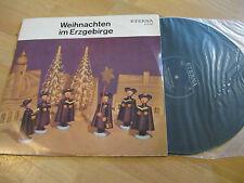 LP Weihnachten im Erzgebirge Vinyl ETERNA DDR 830021 Schallplatte