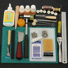 Tools Leather Craft Tool Kit Leather Hand Sewing Tool Set