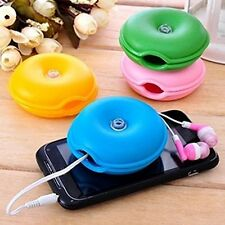3pcs Turtle Cable Wire Organizer Winder USB TV Earphone Headphone Cord Holder