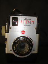 Old Vtg Antique Collectible Brownie Bull's Eye Kodak Twindar Lens Box Camera