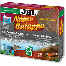 JBL Nano Catappa Indian Almond Leaves for Shrimp Discus Betta Fish