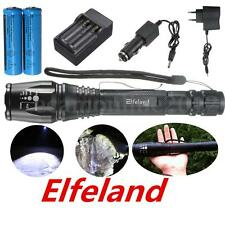 Elfeland 10000LM T6 LED Linterna Antorcha Flashlight Torcia Torch Zoom Militar