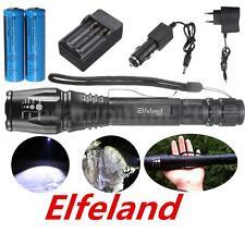 Elfeland 10000LM T6 LED Linterna Antorcha Flashlight Torcia Torch Zoom Militar