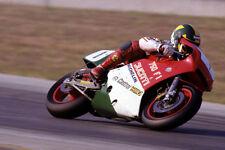 Ducati 750 F1 factory racing bike & Virginio Ferrari - 1986 750F1 - motorcycle