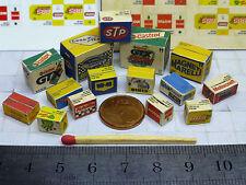 15 Diverse Color Kartons für 1:43 / 1:32 Diorama,Garage Werkstatt Tankstelle