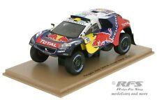 Peugeot 2008 DKR - Rallye Dakar 2016 - Peterhansel / Cottret  1:43 Spark 4876