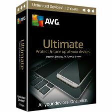 AVG Ultimate 2016 - Unlimited Devices / 2 Years for Windows/Macs/Android ✔NEW✔