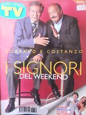 TV Sorrisi e Canzoni n°39 1997 Maurizio Costanzo Corrado Mantoni  [D6]
