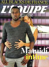 L'EQUIPE MAGAZINE N°1735 17 OCTOBRE 2015 MATUIDI/ ALL BLACKS/ MARTIN/FITZPATRICK