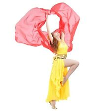 Belly Dance Costume Chiffon Big Shawl Veil Gold Trim 8 Colors Indian face veil