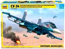Zvezda 7298 Russian Fighter Sukhoi Su - 34 1/72