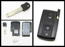 Fits TOYOTA PRIUS VERSO RAV4 CROWN etc. 3 BUTTON SMART REMOTE KEY CASE + blade