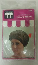 Vintage Hair Nets! Wave Nets! Elastic Band !(2 - White!)  Unique old Item! NICE!