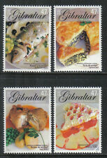 Gibraltar 2005 Europa/Local Cuisine--Attractive Food Topical (1010-13) MNH