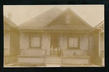 Canada Manitoba Winnipeg 575 Cathedral Avenue & residents c1900/20s? RP PPC