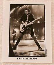 KEITH RICHARDS Photograph KEVIN MAZUR Promo B&W 8x10 Press Photo Rolling Stones